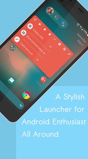 Sapphyx Launcher 2.01.227 screenshots 1