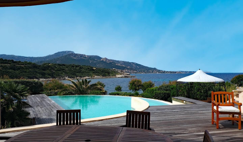 Seaside villa with pool Corbara
