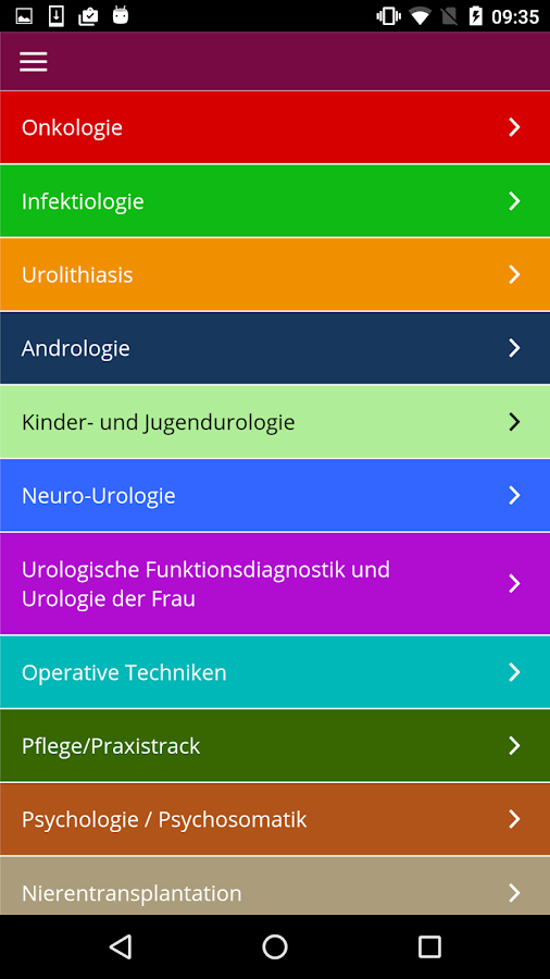DGU 2017 - Kongress App- screenshot