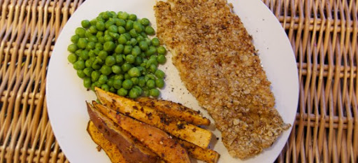Healthy Fish & Chips Recipe – #FitTeam14 October