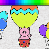 Balloons Coloring