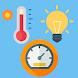 マルチセンサー -気圧計、湿度計、温度計(気温計)、照度計、天気、降水量、風速- 無料