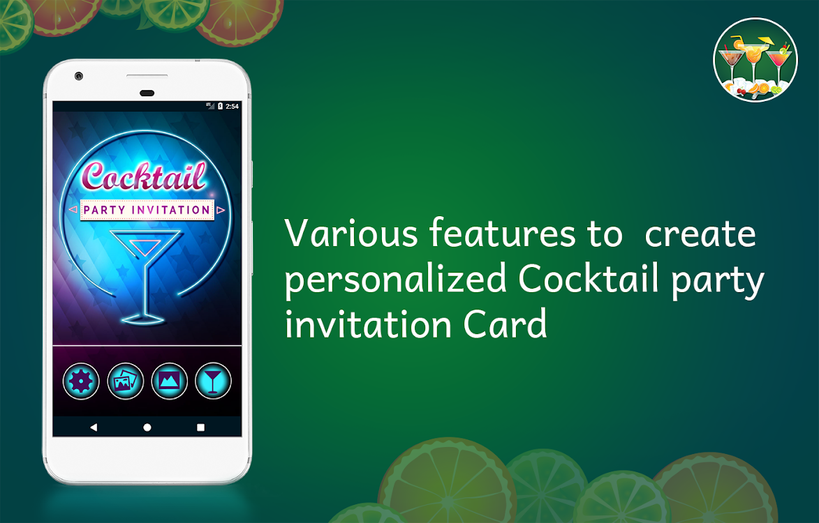 Cocktail Party Invitation Card Maker Android Apps Appagg
