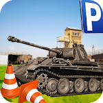 Military Tank Parking Driver Icon