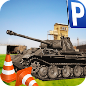 Military Tank Parking Driver