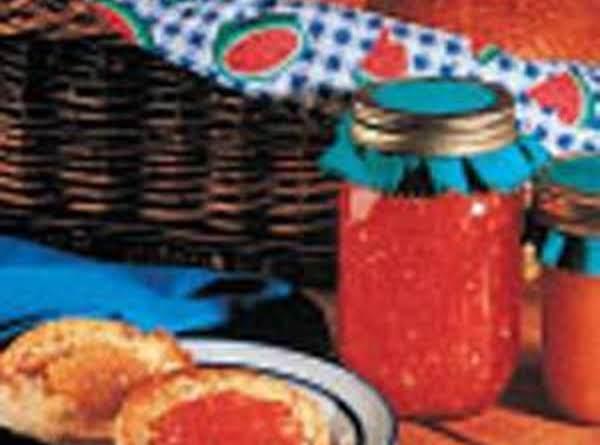 Watermelon Jam Gift In A Jar Recipe