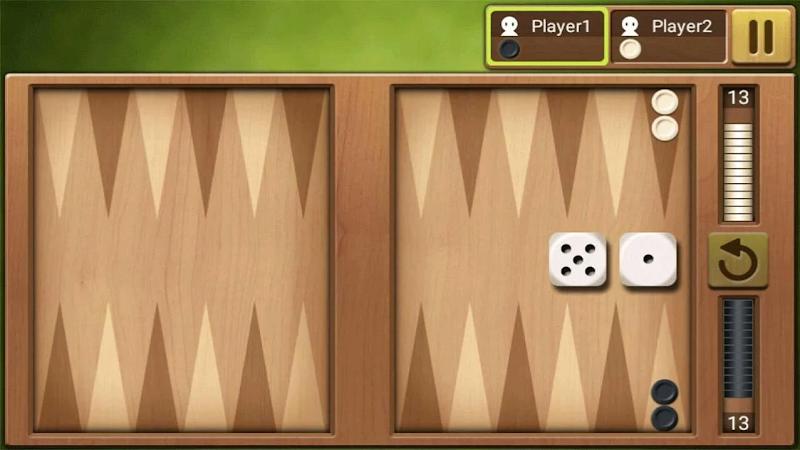 Скриншот Короткие нарды Король