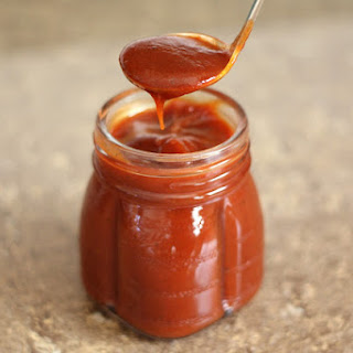 Homemade Spicy Barbecue Sauce.