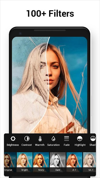 Photo Editor Pro Android App Screenshot