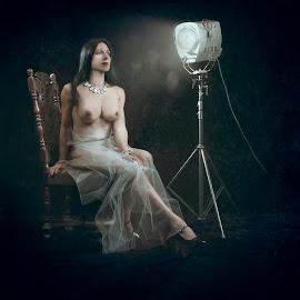 The Movie Star by Kelley Hurwitz Ahr - Digital Art People ( lori studio )