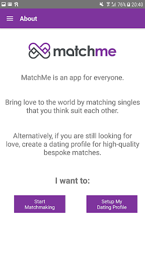 Matchmaking love test