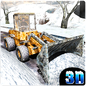 Winter Snow Plow Excavator Sim