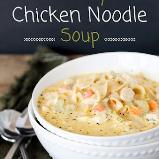 10 best homemade chicken noodle soup with cream of chicken for Best homemade chicken noodle soup recipe