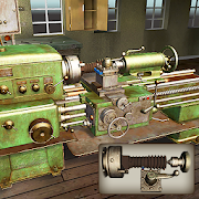 Lathe Machine 3D