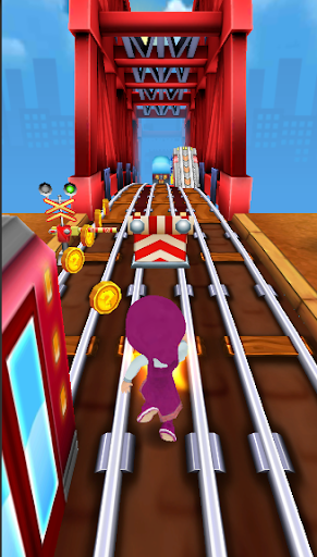 Skater Masha Adventure run 4.9 screenshots 1