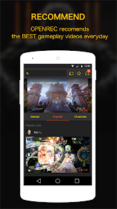 OPENREC.tv -Gaming Videos&Live screenshot 4