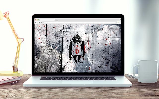 Banksy HD Wallpapers New Tab Theme