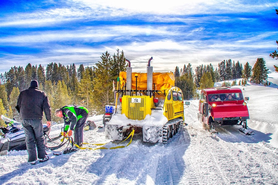 Yellowstone Samaritan by Ron Meyers - Transportation Other