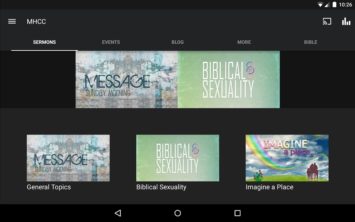 Mars Hill Community Church- screenshot