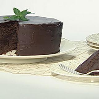 Chocolate Peppermint Truffle Cake