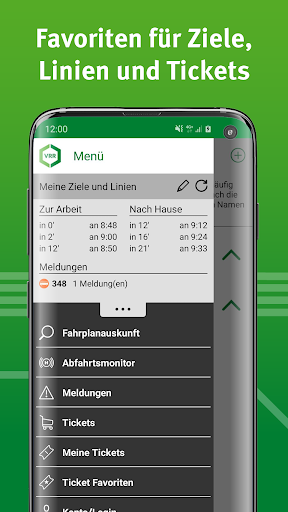 VRR-App - Fahrplanauskunft 5.37.14418 screenshots 8
