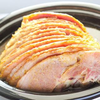 Slow Cooker Spiral Ham.