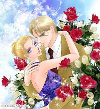 Photo: 「金の薔薇と船上の恋」コミックスカバーイラスト
