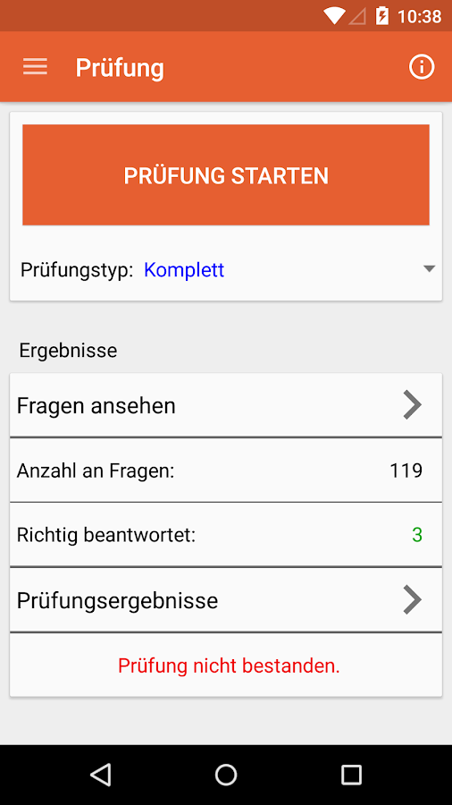 Amateurfunk - Klasse A – Screenshot