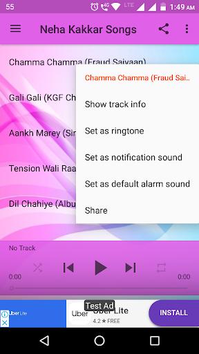 Neha Kakkar Songs 2.1 screenshots 2