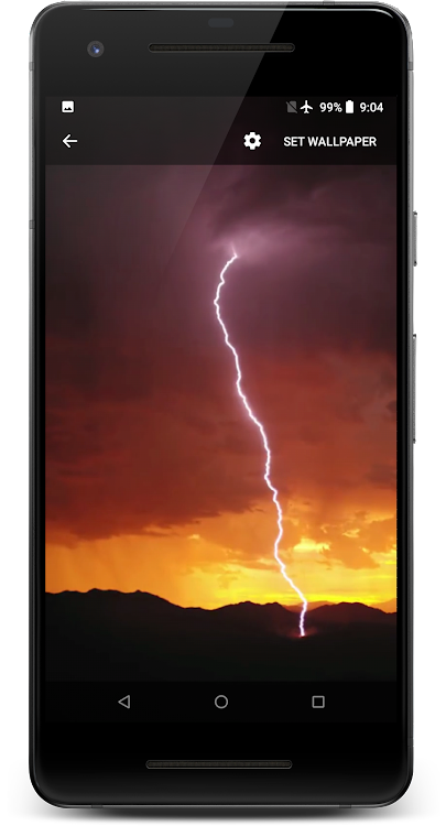 Lightning Live Wallpaper Android Applications Appagg