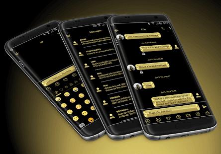 Metal Gold SMS Zprávy - náhled