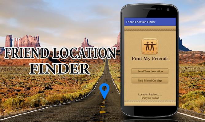 Friend Location Finder - screenshot