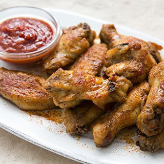 Old Bay Chicken Wings.