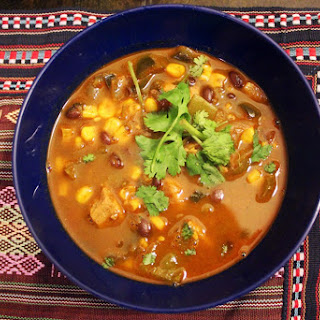 Green Chile and Pork Posole