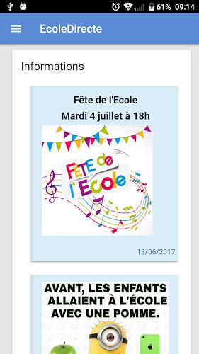 Mon EcoleDirecte Android App Screenshot