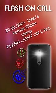 FlashLight on Call – Automatic Flash Light Blink 4