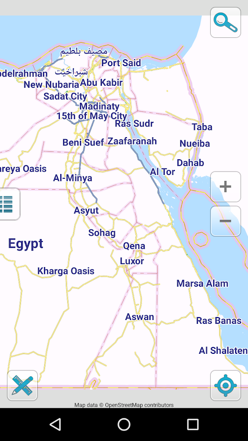 Map Of Egypt Offline Android Apps On Google Play - Map of egypt dahab