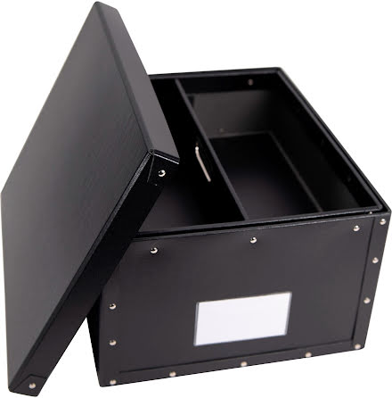 Förvaringsbox Office Box svart