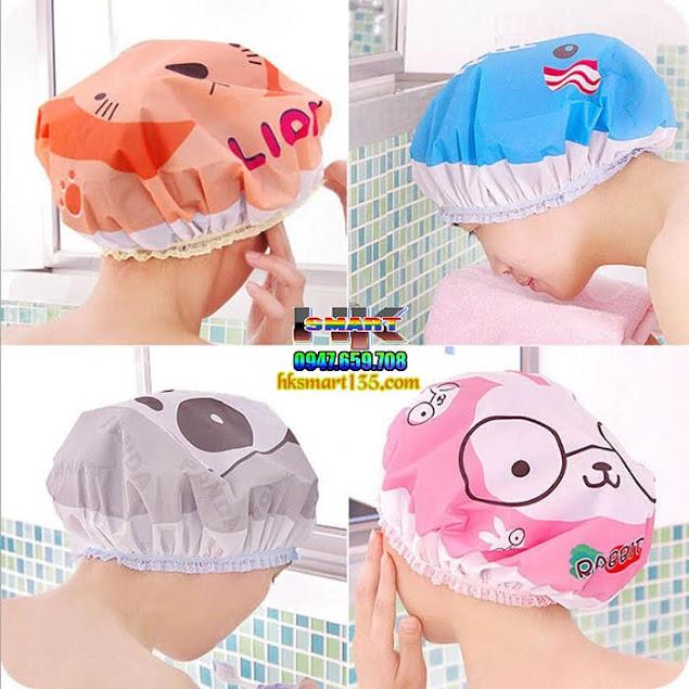 Mũ chùm tóc khi tắm