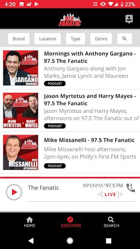 97.5 The Fanatic -Philadelphia  screenshots 2