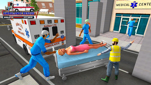 City Ambulance Rescue Simulator Games 🚑 🚁 ss1