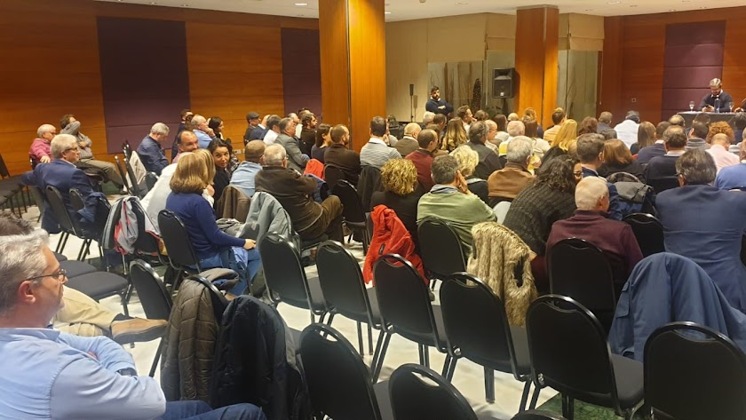 Asamblea de Ciudadanos en Almería.