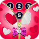 Love zipper lock screen APK