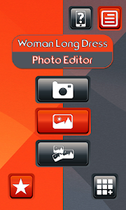 Woman Long Dress Photo Editor screenshot 0