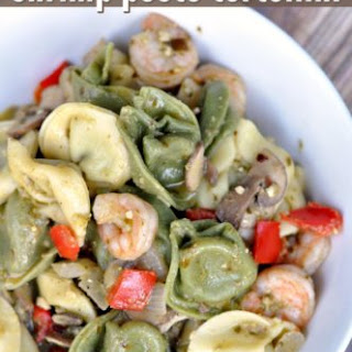 Shrimp Pesto Tortellini.