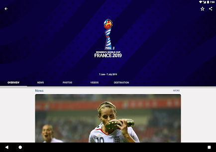 FIFA Tournaments, Soccer News & Live Scores 7