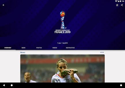 FIFA Tournaments, Soccer News & Live Scores 7