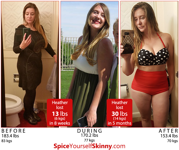 Losing 30 lbs makes wearing a bathing suit that much better