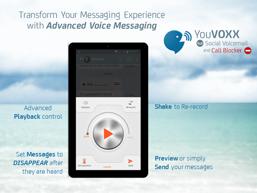 YouVOXX Voicemail, Call Blocker screenshot 13