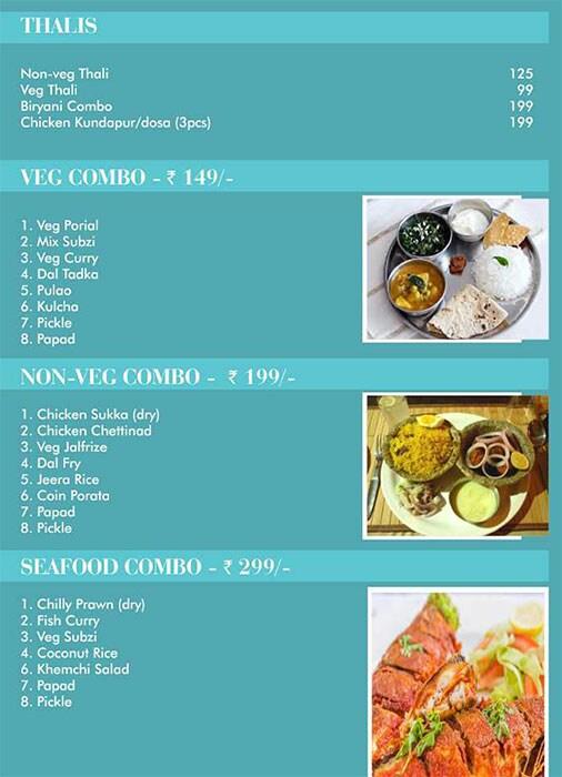 Dakshin Restaurant menu 3